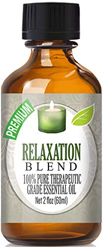 Relaxation Blend 100% Pure, Best Therapeutic Grade Essential Oil - 60ml - Bergamot, Clove Leaf, Grapefruit, Lavender, Lemon and Mandarin