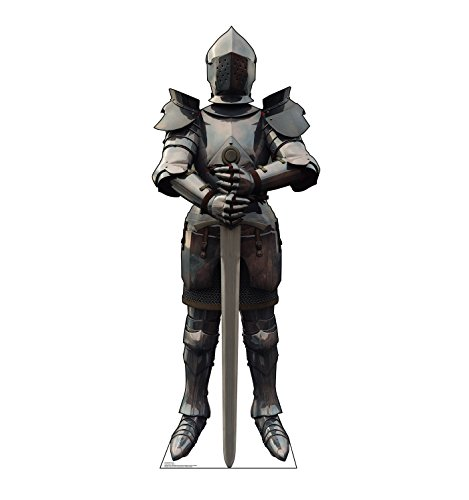 Advanced Graphics Knight in Armor Life Size Cardboard Cutout Standup