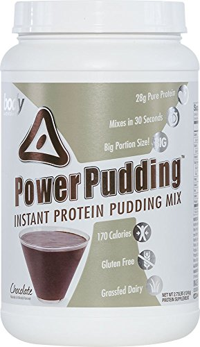 Body Nutrition Power Pudding Chocolate Instant Protein Pudding Mix 2.75 LB