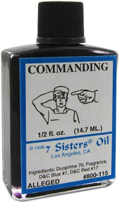 7 Sisters Commanding Oil 1/2 fl. oz.