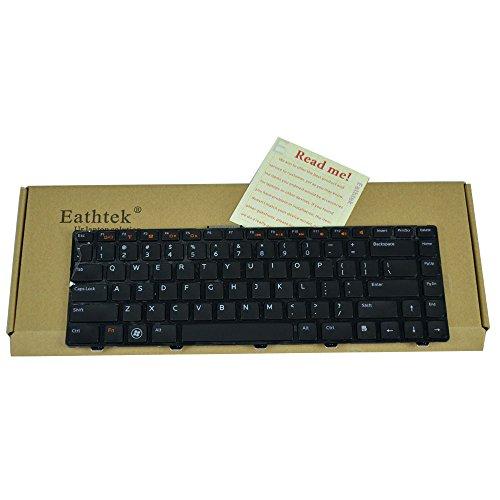 Eathtek Replacement Keyboard Non-backlit for Dell INSPIRON 14R N4110 M4110 N4050 M4040 M5040 M5050 N5040 N5050 N4410 M411R VOSTRO 3450 3550 V3450 V3550 XPS X501L x502L L502 series Black US Layout
