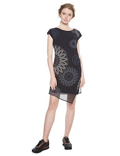 sandrini Vestito negro Desigual Donna 2000 Vest O7Exw8q5