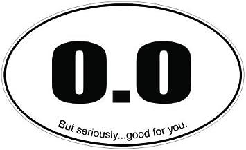 Oval gotta run.. Sticker