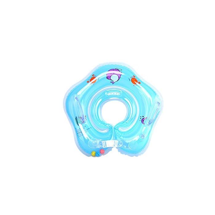 4137q4 r4PL Suave y cómodo: El diámetro interior del bebé nadar anillo con costuras de tecnología sin costura, protege la piel delicada de su bebé. Salud y protección del medio ambiente: El uso de materiales respetuosos del medio ambiente del PVC, no tóxico, garantía de calidad. Especificación: Diámetro interno aproximadamente 9cm / 3.5inch. Diámetro exterior aproximadamente 39cm / 15.3inch.