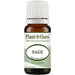 Sage Essential Oil (Austria) 10 ml. 100% Pure Undiluted Therapeutic Grade.