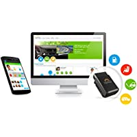 VYNCS Premium No Monthly Fee Connected Car OBD 3G Car GPS Tracker, Teen Coaching, Car Health, Fuel Economy, Emission, One year Roadside Assistance Included VPOBDGPS2 (1-Pack)