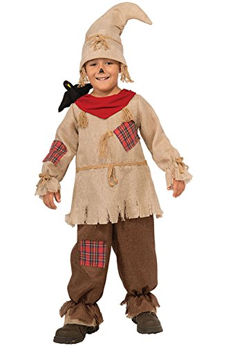 [Mememall Fashion Scarecrow Jumpsuit Child Costume (S)] (Jason Vorhees Masks)