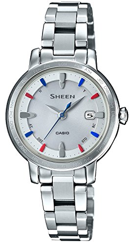 CASIO watch SHEEN world six stations corresponding Solar radio SHW-1900BD-7AJF Ladies