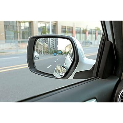 Dependable Direct HD Frameless Blind Spot Mirror - Fan Shaped 2.5