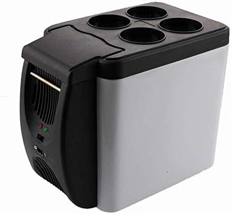 ZWH-ZWH 車の冷蔵庫、電気旅行クーラーとウォーマー - ホーム、車やキャンプのためのACおよびDC電源コードと6リットルポータブル冷蔵庫、ミニ冷蔵庫(カラー、サイズ:327x182x268mm) 車載用冷蔵庫