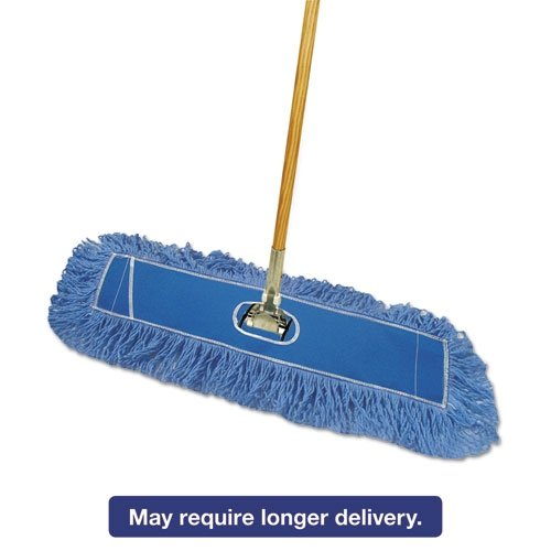 Boardwalk HL245BSPC Looped-End Dust Mop Kit 24 x 5 60
