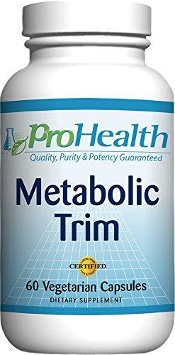 ProHealth Metabolic Trim with Chromium, Meratrim and Capsimax - (Weight Management Formula) - (60 veggie capsules)