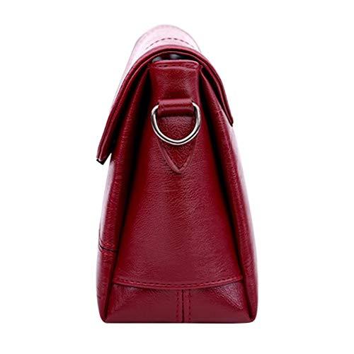 wonCacrostrans Bolso Mujer Hombro Red Rojo Red al 32HIR4ZHLQMAOSWZ6 para rOq7rC