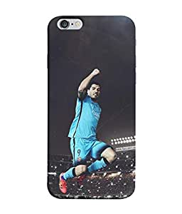 ColorKing Football Suarez Uruguay 04 Multicolor shell case cover for Apple iphone 6 / 6s