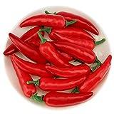 Gresorth 60pcs Artificial Mini Pepper Chili Fake