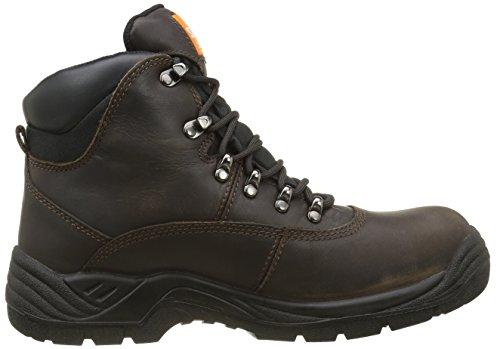 Sterling Safetywear Sterling SS813SM SS813SM - Calzado de protección de cuero para hombre Marrón