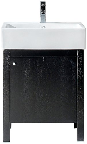 Fine Fixtures IM2231BL Imperial Medicine Cabinet, 24'', Black by Fine Fixtures