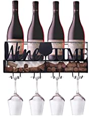 Ranita Home & Style - Wine Rack Wall Mounted - Wine Rack Wall - Wine Cork Holder - Wine Shelf - Hanging Wine Rack - Wine Bottle Holder - Wall Wine Rack