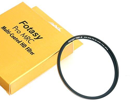 Fotasy 77mm Nano Multi-Resistant-Coated 16 Layer MC Super Slim HD UV Filter