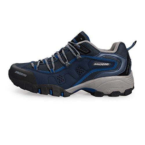 foncé caño bajo botas bleu de XIGUAFR Unisex adulto q0HnEqxU
