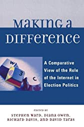 Making a Difference: A Comparative View of the Role of the Internet in Election Politics (Lexington Studies in Political Communication)