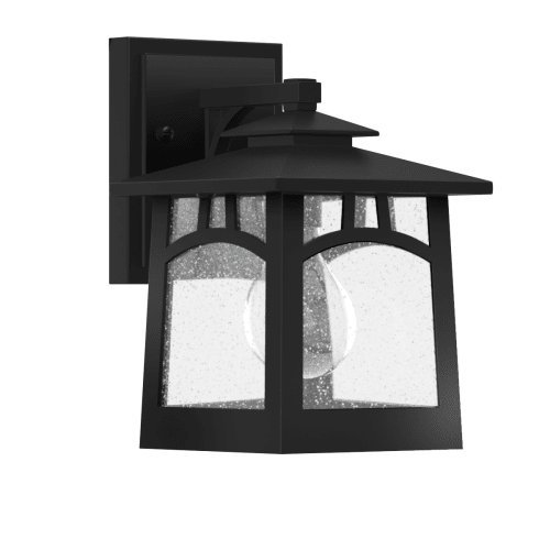 Park Harbor PHEL1100BLK Textured Black Carytown 9″ Tall Single Light Outdoor Wall Sconce