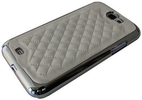 Avcibase 4260310649931 A07-11-02 Luxus Glitzer Diamant harte Schutzhülle für Samsung Galaxy Note 2 N7100 weiß