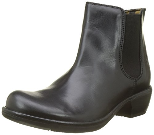 Para black 018 Fly Botas Make Chelsea London Mujer Negro qwFIwa