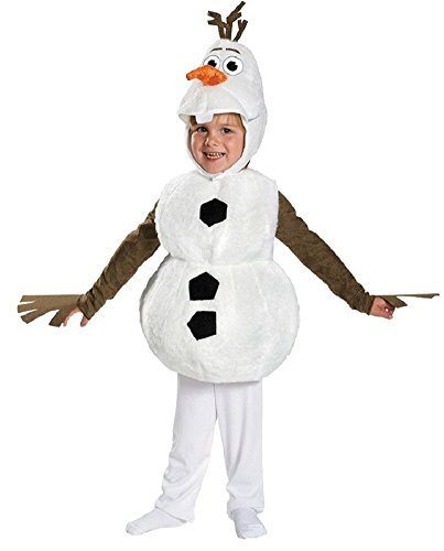 Olaf Toddler Halloween Costumes (Olaf Deluxe Toddler Costume - Toddler Small)