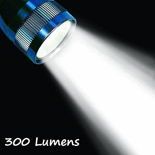 LudoPam LED Bulb Upgrade Conversion 300LM for 3 4 5 6 Cell C/D Maglite (3 Way Flashlight)
