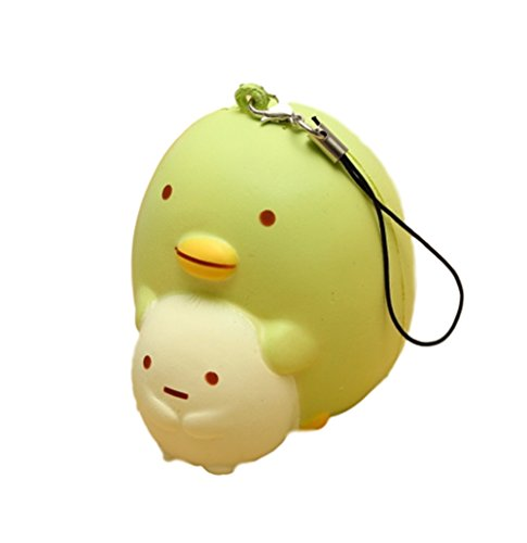 [Squishy Penguin Cute Kawaii Phone Bag Strap Pendent Gift Collection] (Homemade Penguin Costumes)