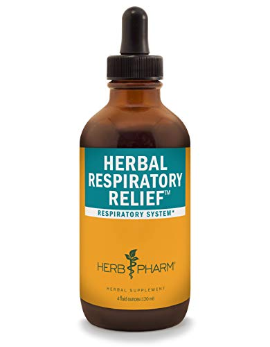 Herb Pharm Herbal Respiratory Relief Liquid Formula with Wild Cherry Liquid Extract - 4 Ounce