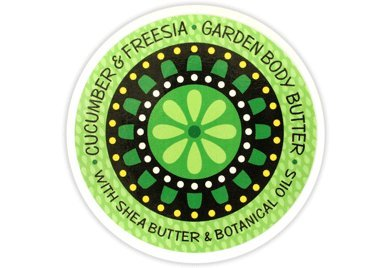 Greenwich Bay Trading Co. Garden Body Butter with Shea and Cocoa Butter (Cucumber & Freesia) African Freesia