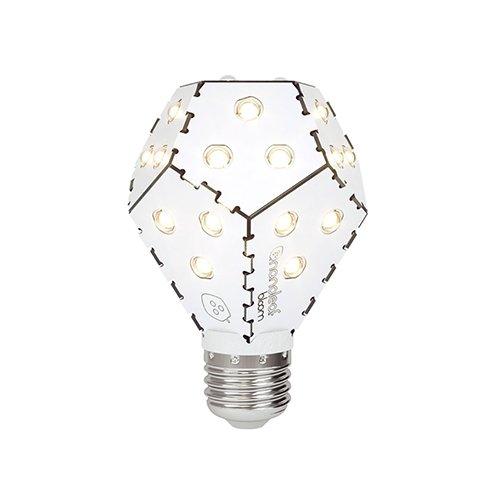 Nanoleaf Bloom LED Light Bulb, E27, 10 W, Arctic White NL03-1200WN240E27-6000K