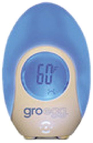 The Gro Company Gro-Egg Room Thermometer, White