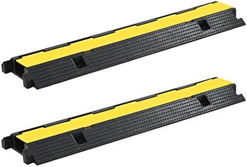 N/O Viel Spaß beim Einkaufen mit Kabelbrücken Überfahrschutz 2 STK. 1 Kanal Gummi 100 cm