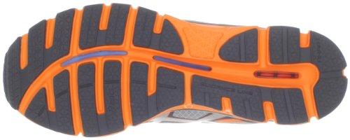 Asics Mens Gel-extreme33 Fulmine Scarpa Da Corsa / Argento / Arancio Neon