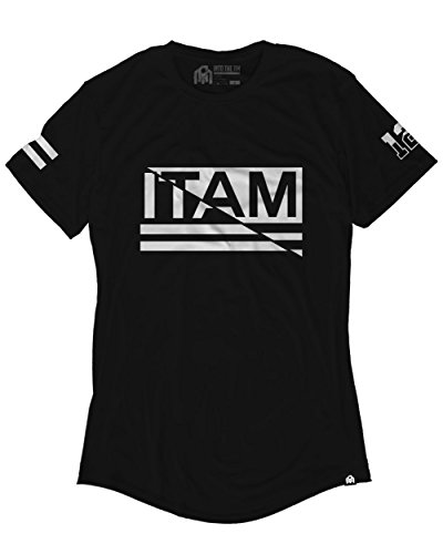 INTO THE AM Shifted Men's Drop-Tail Tee (X-Large)