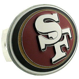 Siskiyou San Francisco 49ers Large Logo Hitch Cover - San Fr
