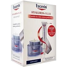 Eucerin Hyaluron-Filler Night Care 50ml + Free Eye Contour Care 15ml