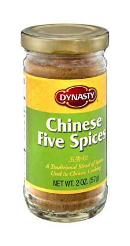 DYNASTY SSNNG PWDR FIVE SPICE, 2 OZ by DYNASTY
