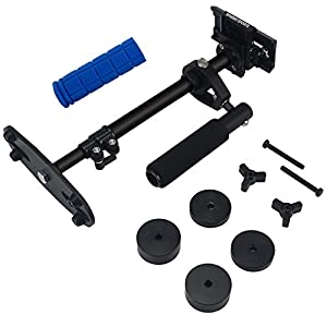 SPURBO SPORTS S40 Aluminum Handheld Stabilizer Pro Version for Camera Video DV DSLR Nikon Canon, Sony etc