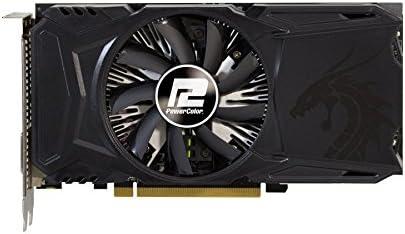 PowerColor AXRX 550 4GBD5-DHA AMD Radeon Red Dragon RX 550 Grafikkarten