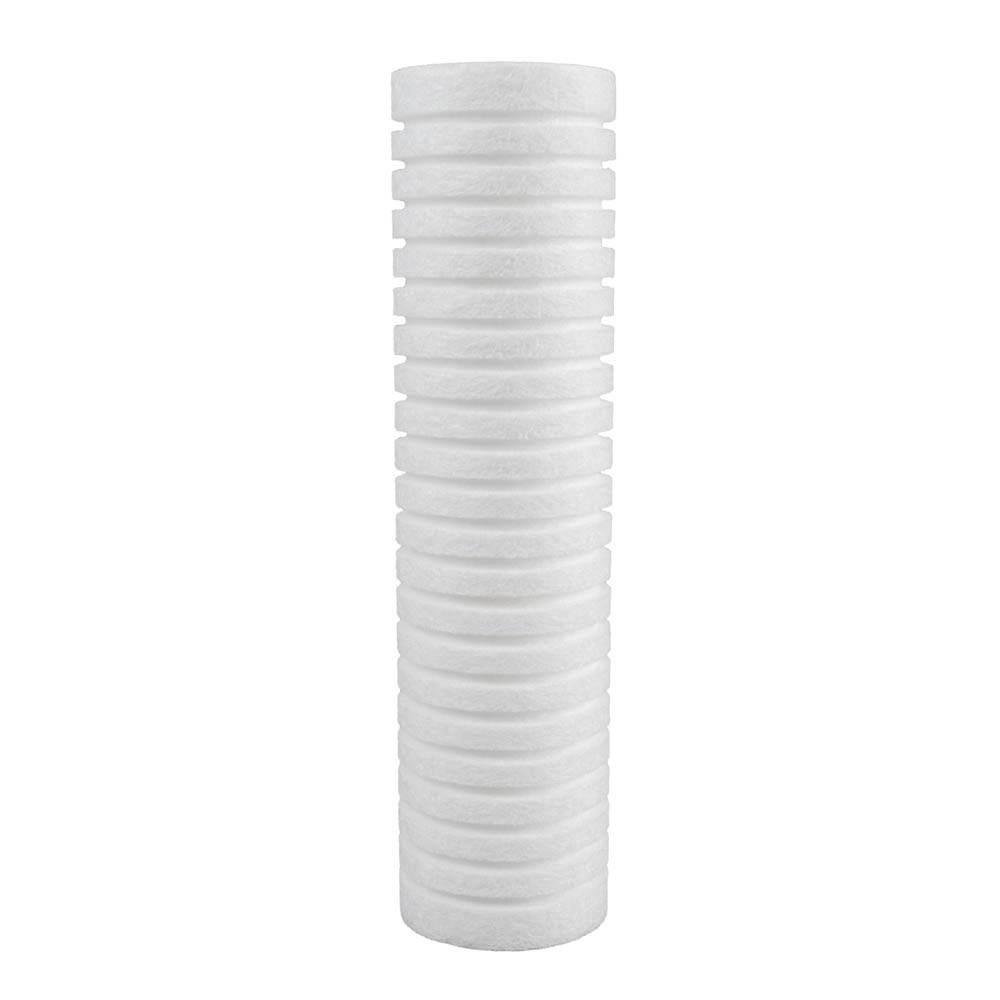 Pentair DEV9109-08 Clear Choice Sediment Filter Cartridge 10in X 2.50in Replacement for Everpure DEV9109-08 Cuno AP2005 CFS110 Aquapure AP110 Pentek 155749-43 P5 PD-5-934 8-Pk