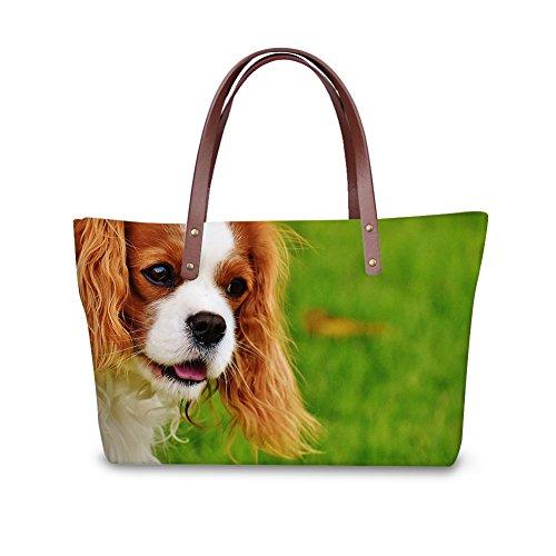 Bags School FancyPrint Shoulder Women W8ccc2461al Large Bags PanCWFn
