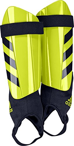 adidas Performance Ghost Club Shin Guards, Solar Yellow/Legend Ink, X-Small