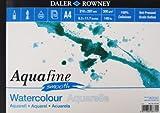 Daler Rowney Aquafine aquarelle artists watercolour SMOOTH pad A4 hot pressed