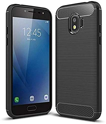 brand new aad83 22d2b ZAPCASE Back Cover Case Compatible for Samsung Galaxy J2 Core/Samsung  Galaxy J2 Core Cases & Covers (Carbon Fiber Rugged Armor Black Color)