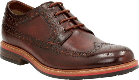 Bostonian Oxford Melshire, ala di rondine da uomo Brown Leather