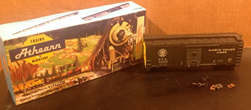 Model Train Athearn Diablo Box Car